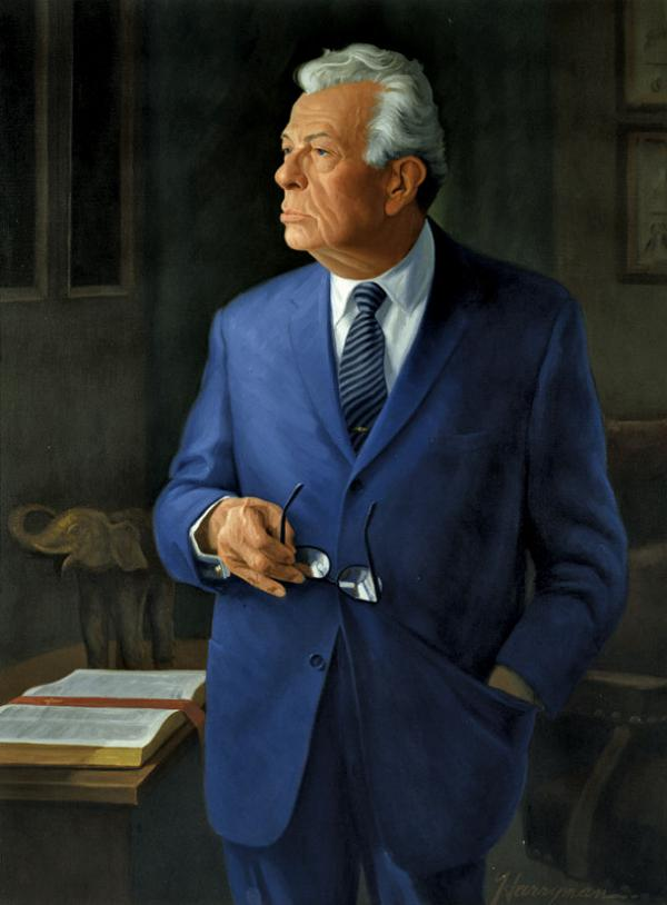 Everett McKinley Dirksen's official portrait