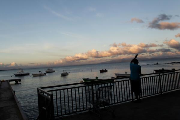 A fisherman looks out to the sea from a fishermen village in Vieques, Puerto Rico. / AFP PHOTO / Ricardo ARDUENGO / TO GO WITH AFP STORY BY LEILA MACOR        (Photo credit should read RICARDO ARDUENGO/AFP/Getty Images)