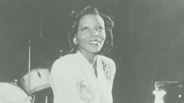 Jazz composer and pianist Mary Lou Williams is photographed in 1950.