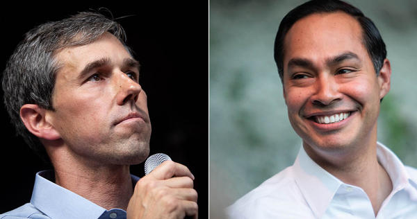 Former Congressman Beto O'Rourke is leading former San Antonio Mayor Julian Castro among Latinx voters in the state, according to a Texas Lyceum poll released Thursday.
