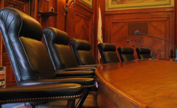 Illinois Supreme Court bench (file photo)