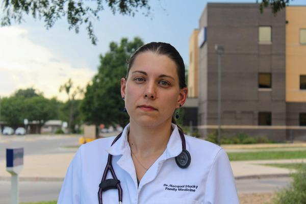 Racquel Stucky is a family medicine physician in Finney County who specializes in preventative medicine.