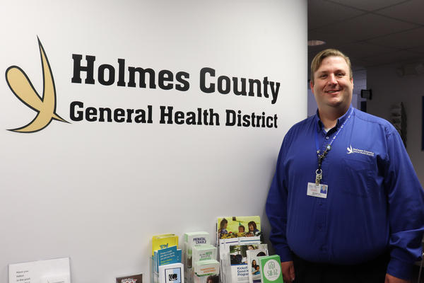 Michael Derr heads the health department in Holmes Co.