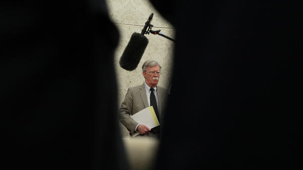 National Security Adviser John Bolton left the Trump administration earlier this week.