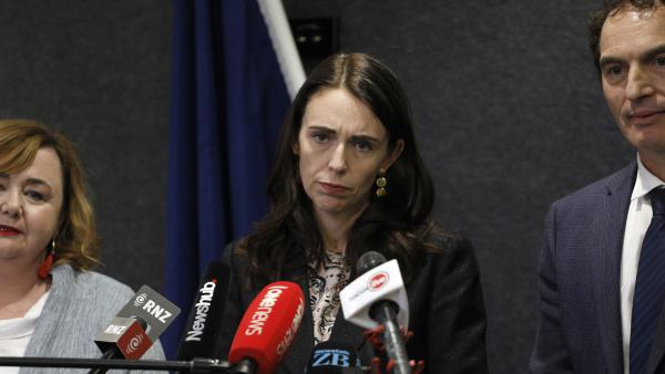 """Prime Minister Jacinda Ardern says her government is creating a national gun registry """"to prevent firearms from reaching the hands of criminals."""" She announced the new plan alongside Police Minister Stuart Nash."""