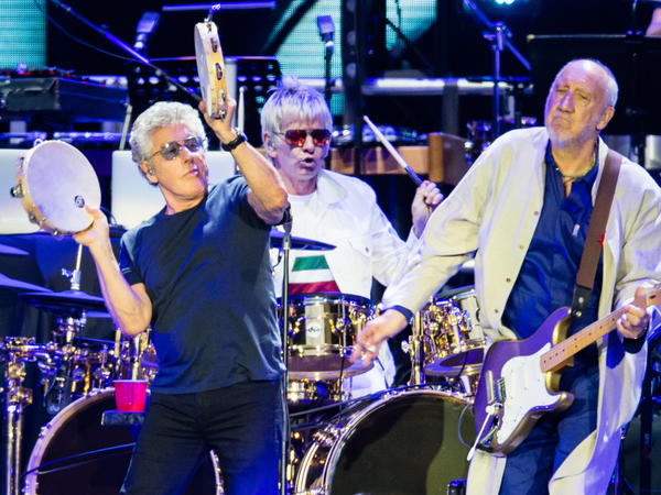 The Who at Wembley Stadium in July 2019.