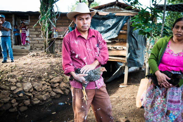 Eulalio Barrera Barrera's family was one of 6,000 to receive a monthly stipend funded by USAID that was cut off last month because of President Trump's foreign aid funding freeze. Like many families in the program, he spent the last cash on chickens.
