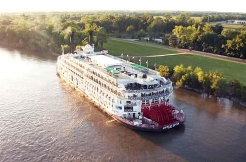 In a public-private partnership, the American Queen riverboat will carry USGS water monitors on trips up and down the Mississippi River.