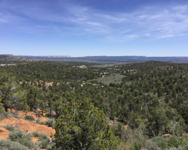 The Skutumpah Terrace region within the Grand Staircase-Escalante National Monument.