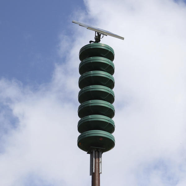 A Hawaii Civil Defense Warning Device is designed to sound an alert siren during natural disasters. Wednesday evening, police activity caused a false tsunami alarm.