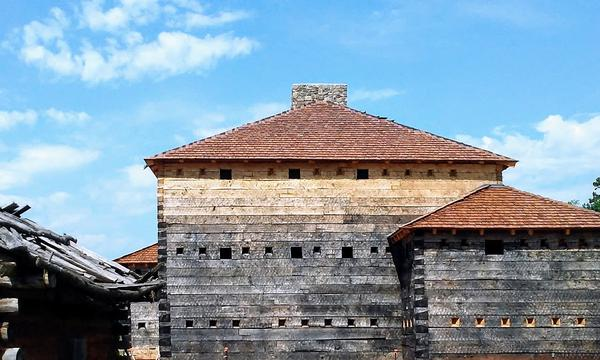 A new 8,000-square-foot replica of 18th century Fort Dobbs will open this weekend.