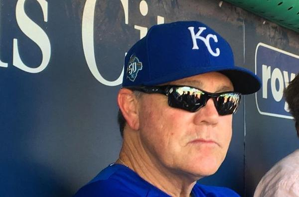 Ned Yost won't return as the Royals' manager next season.