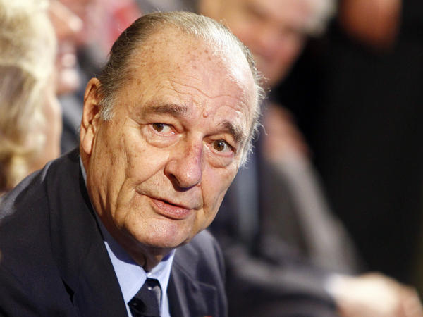 Former French President Jacques Chirac, in a 2011 photo. Chirac was a fierce opponent of the 2003 U.S. invasion of Iraq.