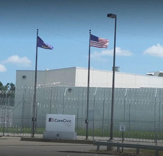 The pretrial detention center in Leavenworth is operated by CoreCivic, one of the country's largest private prison operators.