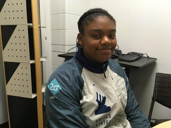 Charisse Woods hopes to someday earn the title of United States Chess Federation National Master.