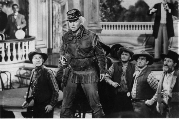 Day starred in 1953's <em>Calamity Jane</em>, which explores the Wild West heroine's alleged romance with frontiersman Wild Bill Hickok.