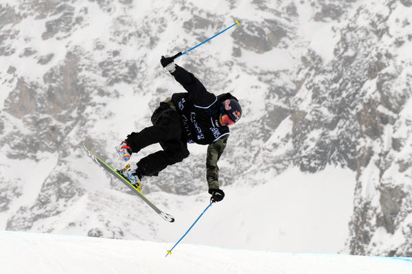 Nick Goepper competed in the ski slopestyle qualification for the European Winter X Games last March.