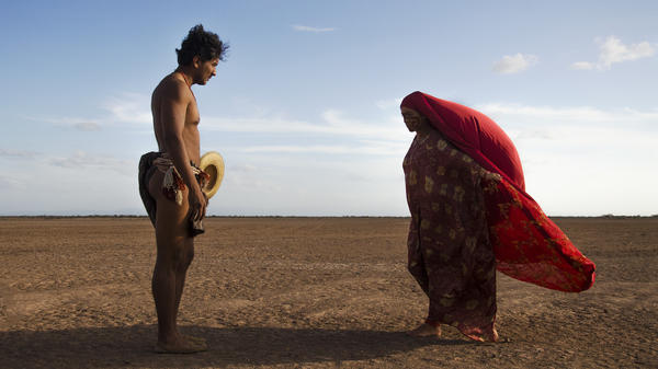 The courtship ritual between Rapayet (José Acosta) and Zaida (Natalia Reyes) sets a tone for <em>Birds of Passage </em>that this is no ordinary organized-crime drama.