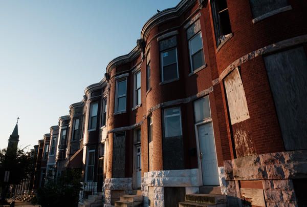 Baltimore's Franklin Square neighborhood is hotter than about two-thirds of the neighborhoods in the city. It's also in one of Baltimore's poorest areas.