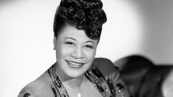 When you look at Ella Fitzgerald's clothes, fancy by any standard, you realize her delight made them something any of us could wear.