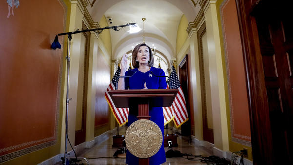 House Speaker Nancy Pelosi announced a formal impeachment inquiry into President Trump Tuesday on Capitol Hill.