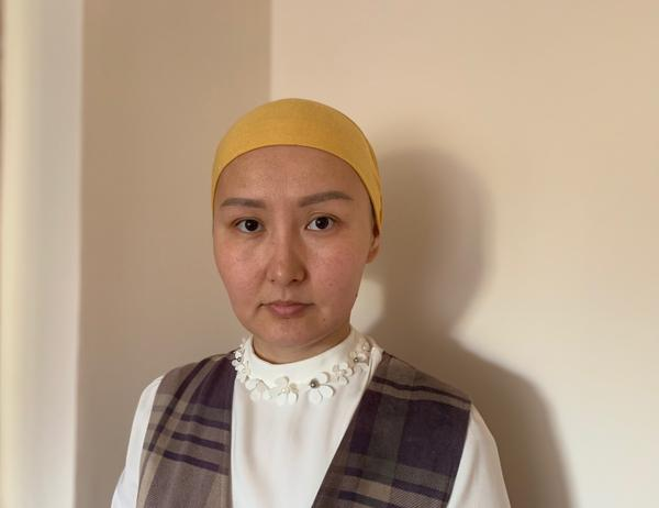 Aibota Zhanibek was born in China and now lives in Almaty, Kazakhstan. Members of her family, who are Muslim ethnic Kazakhs, have been detained in China's northwestern region of Xinjiang.