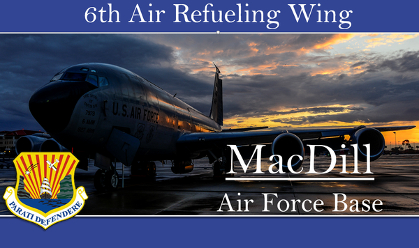 The 6th Air Mobility Wing is now the 6th Air Refueling Wing, which reflects a shift in the unit's duties. STEPHANIE COLOMBINI/WUSF PUBLIC MEDIA