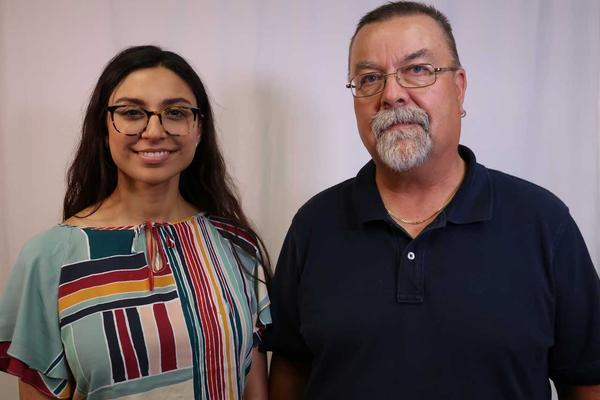 Shweta Goswami and Michael Bushnell talked about how they navigate politics in their workplaces.