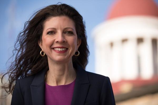 Democratic congressional candidate Betsy Dirksen Londrigan.