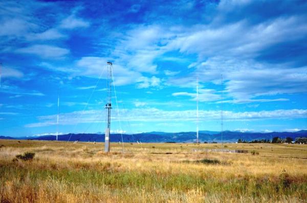 WWV's 15 MHz antenna.