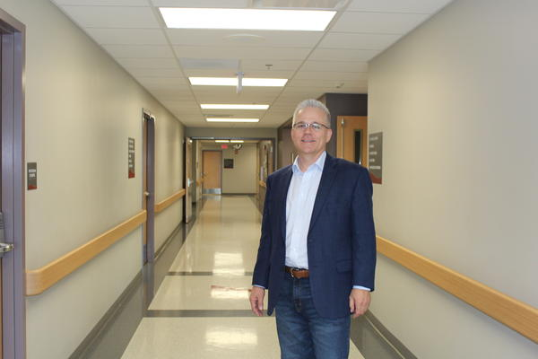 Brent King is the bankruptcy trustee for Hillsboro Community Hospital, and has played a key role in its survival.