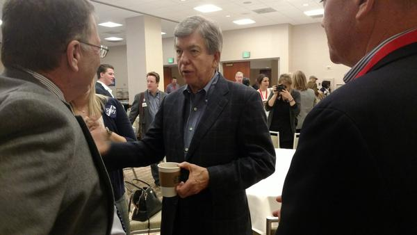 U.S. Sen. Roy Blunt is on a Senate committee looking into President Donald Trump's interactions with Ukraine's president.