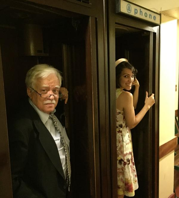 Van Dyke Parks, left, and Gaby Moreno check in with each other about their new album <em>Spangle</em>.