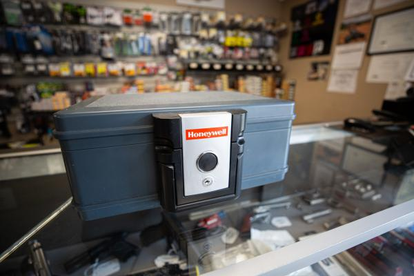 Central Connecticut Arms in Portland, Connecticut, sells a variety of gun safes and cable locks. Connecticut is one of 11 states that has laws regarding firearm locking devices.