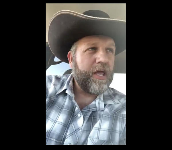Ammon Bundy kept his Facebook followers informed as he tried to purchase a weapon from D&B Supply in Emmett, Idaho.
