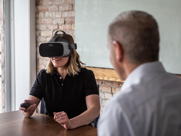 Employers are using virtual reality to train millions of workers in everything from operating machines to how to handle active shooters.