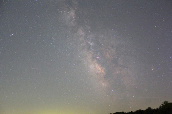 The Missouri chapter of the International Dark-Sky Association has placed devices that measure sky brightness around the state. The chapter aims to use the data to reduce light pollution, including near Kirksville, Missouri, where this photo was taken.