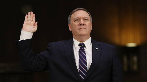 For several days this week, Secretary of State Mike Pompeo dodged questions about the whistleblower's complaint before finally admitting he had actually been on the call at the center of the complaint.