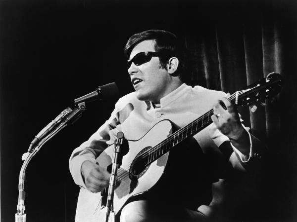 José Feliciano performs in the late 1960s.