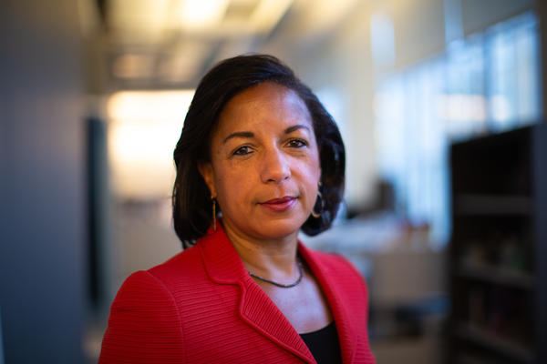 Susan Rice at NPR.