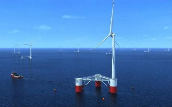 <p>Principle Power, a Seattle-based company, moved its planned offshore wind project to California.</p>