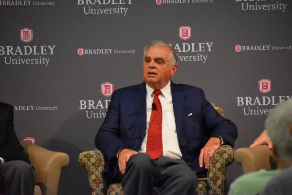 Ray LaHood at Bradley University's Hayden-Clark Alumni Center