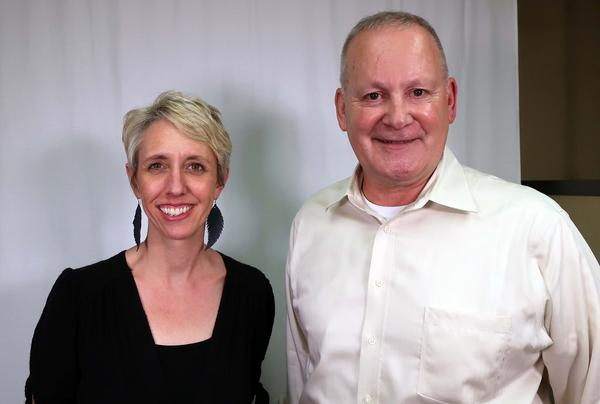 Mike Parker and Ellen Carmody had never met before they interviewed each other at KCUR for Storycorps.