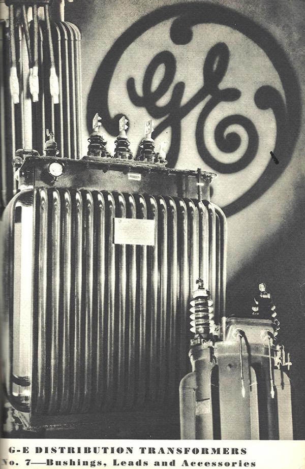 GE distribution transformers in a 1932 publication.