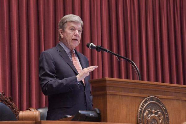 U.S. Sen. Roy Blunt, R-Mo., isn't saying much about the impeachment inquiry into President Trump.