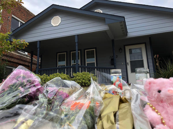 Bouquets of flowers and stuffed animals are piling up outside the Fort Worth, Texas, home of 28-year-old Atatiana Jefferson, who was shot to death early Saturday morning by a police officer.