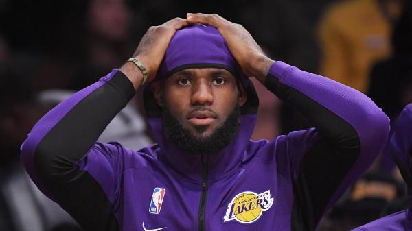 Los Angeles Lakers forward LeBron James, shown here during a game on Monday, has weighed in on comments made by Houston Rockets General Manager Daryl Morey.