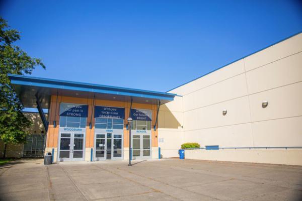 <p>Woodburn High School in Woodburn, Oregon, Saturday, July 22, 2017.</p>