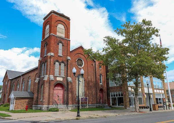 Former Wesleyan Church, Seneca Falls