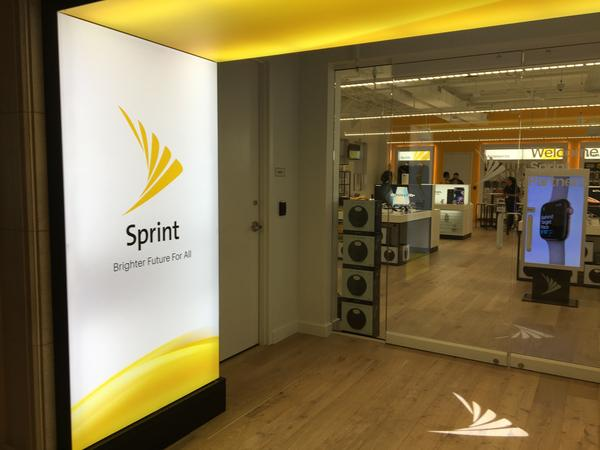 The Sprint store in the newly renovated headquarters building on the Sprint campus in Overland Park.